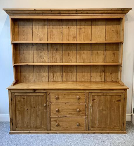 Large Antique Pine Dresser (1 of 16)