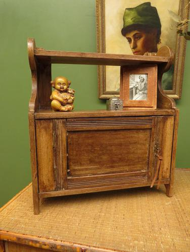 Small Rustic Wall Cabinet, Small Bathroom Cabinet (1 of 13)
