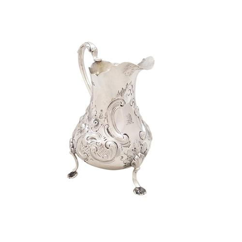 Antique Victorian Sterling Silver Jug 1856 (1 of 10)