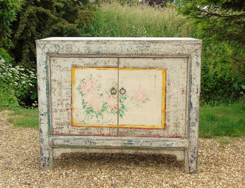 Beautiful 19th Century Hand Painted Chinese Cabinet (1 of 11)
