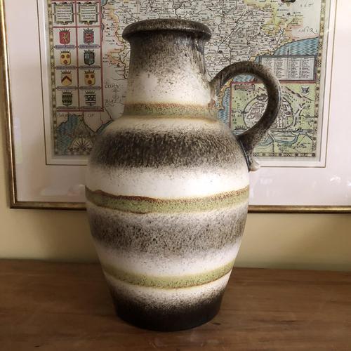 Mid Century Scheurich Keramik German Floor Vase (1 of 10)