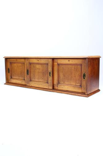 Victorian Mahogany Low Cupboard / TV Stand (1 of 13)