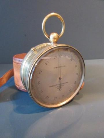 Negretti & Zambra Antique Barometer / Compass in Case (1 of 6)