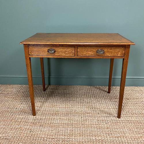 Georgian Country Oak Antique Side Table (1 of 8)