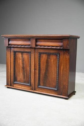 Victorian Mahogany Sideboard (1 of 12)