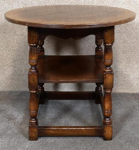 Titchmarsh & Goodwin English Oak Tavern Table / Occasional Table RL87 (1 of 10)