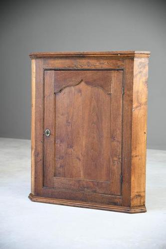 Georgian Oak Hanging Cupboard (1 of 12)