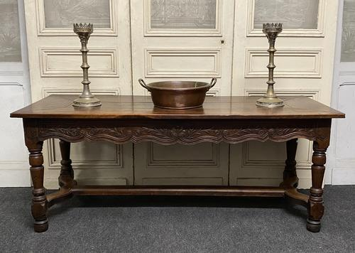 Early 18th Century French Walnut Console Table (1 of 28)