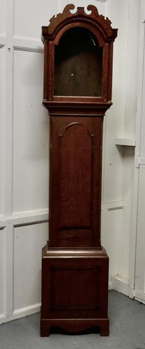 Victorian Inlaid Oak Long Case Clock Case (1 of 8)