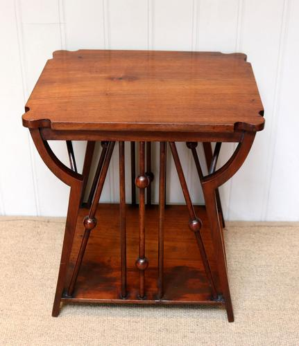 Small Arts & Crafts Walnut Table (1 of 8)