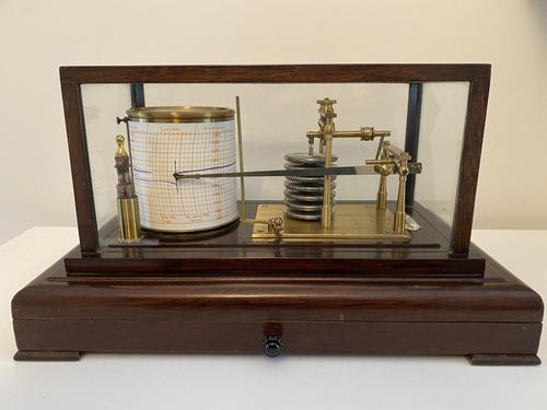 Barograph by Dunscombe, Bristol (1 of 4)