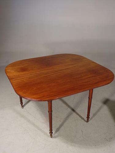 Good George III Period Mahogany Entertaining Table (1 of 6)