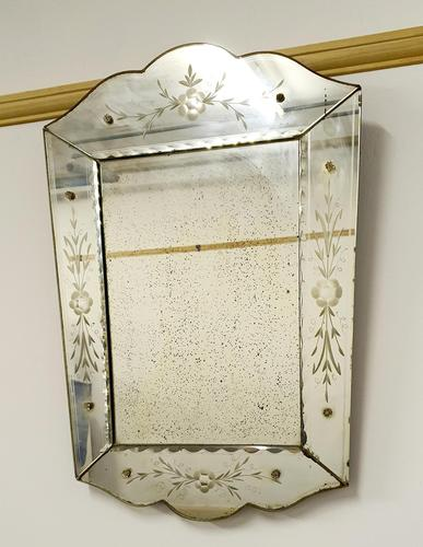 19th Century Venetian Mirror (1 of 9)
