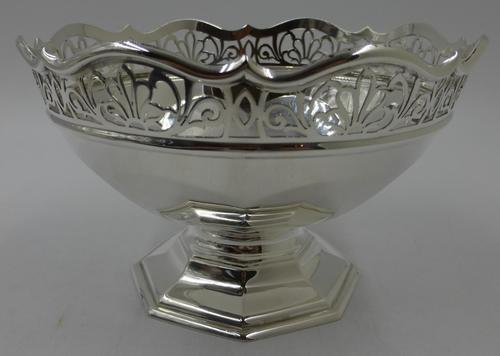 Antique Silver Bowl Sheffield 1909 (1 of 6)