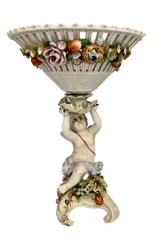 Antique German Porcelain Shierholz Centre Piece c.1907 (1 of 9)