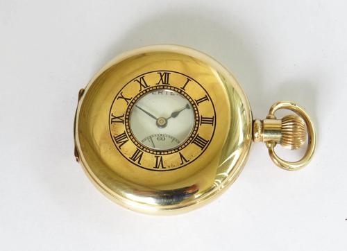 1930s Vertex Revue Half Hunter Pocket Watch (1 of 5)