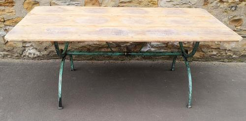 Reclaimed Industrial Dining Table (1 of 5)
