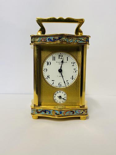Miniature Carriage Clock 19th Century (1 of 8)