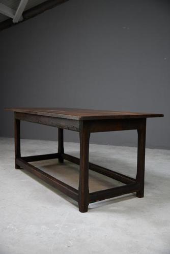 Rustic Oak Refectory Table (1 of 13)