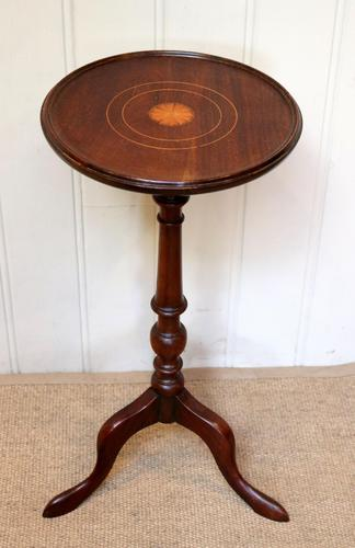 Inlaid Mahogany Wine Table (1 of 9)