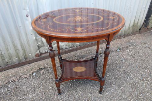 Antique Occasional Table (1 of 5)