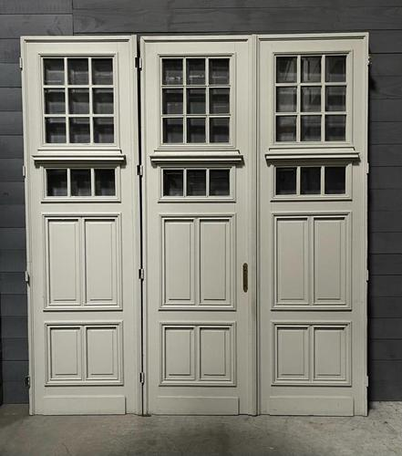 Incredible Set of 3 19th Century French Chateau Doors (1 of 17)