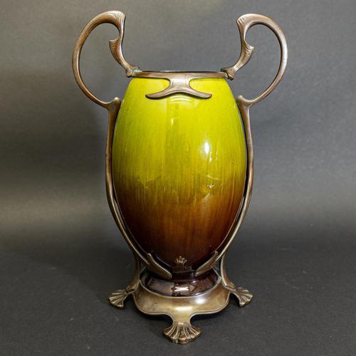 Art Nouveau Ceramic Vase (1 of 9)