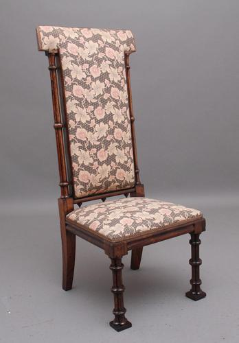 Early 19th Century Rosewood Chair in the Gothic Style (1 of 9)