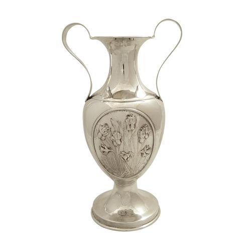 """Antique Sterling Silver 9"""" Vase / Urn 1912 (1 of 8)"""