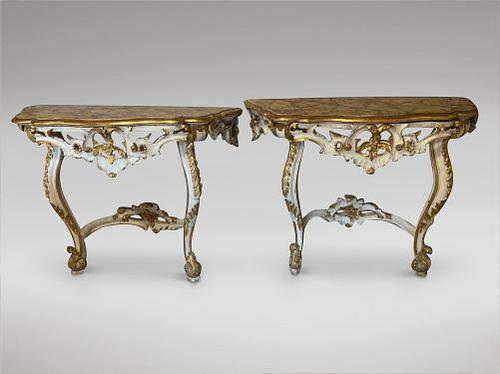 A pair of Louis xvi Giltwood Console tables for restoration (1 of 9)