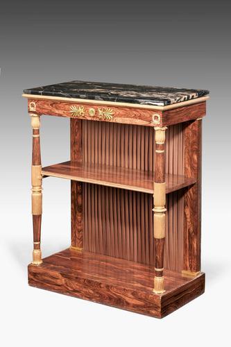 Regency Period Rosewood Gilt Side Cabinet (1 of 6)