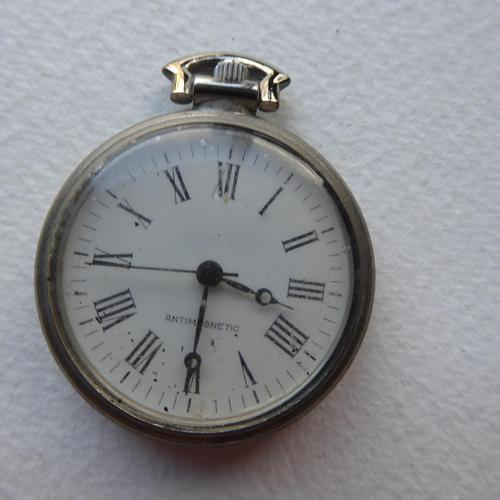 Antimagnetic Gents Pocket Watch (1 of 6)