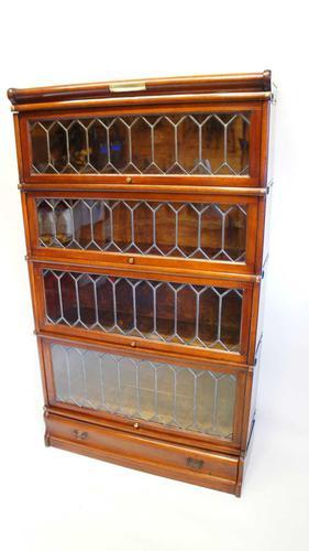 Good Quality Mahogany Globe Wernicke Sectional Glazed Bookcase (1 of 29)