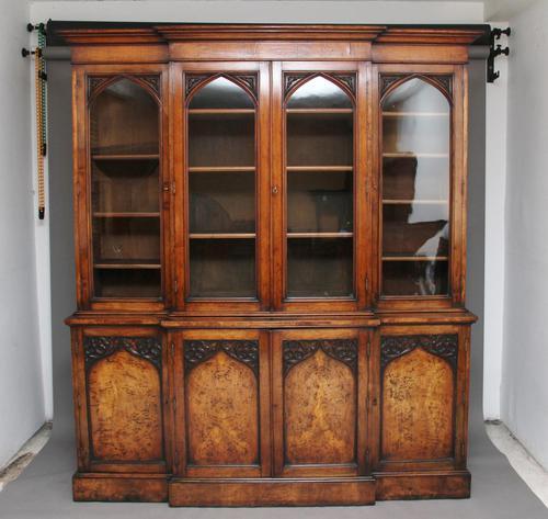 Early 19th Century Pollard Oak Bookcase (1 of 13)