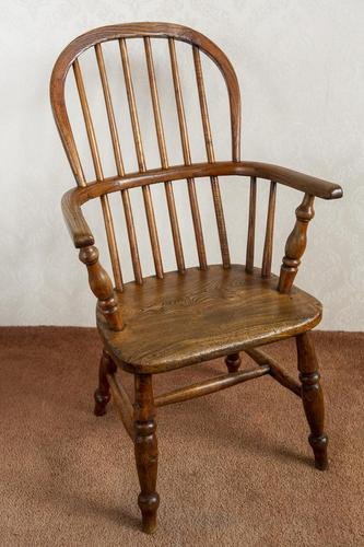 Child's Hoop-back Windsor Chair in Ash (1 of 4)