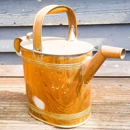Brass Antique Watering Can (1 of 6)