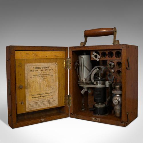 Antique Engine Indicator, Scottish, Scientific Instrument, Dobbie McInnes, 1920 (1 of 11)