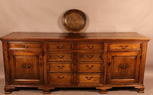 Superb Georgian Oak Serving Dresser Large (1 of 20)