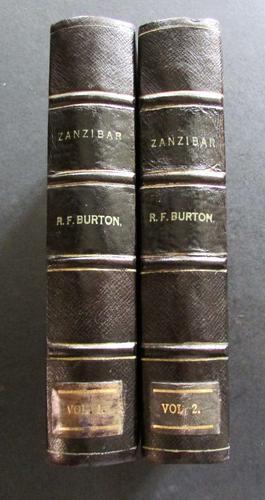 1872   Zanzibar - City Island & Coast by Richard F Burton -1st Edition, 2 Volume Set (1 of 5)