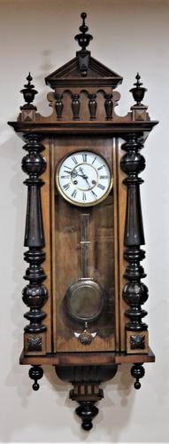 1890's German Striking Vienna Wall Clock (1 of 5)