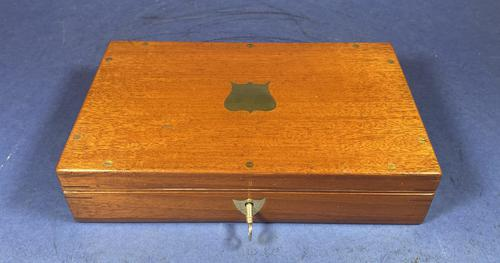 Late Victorian Arnold & Son, London Mahogany Box (1 of 12)