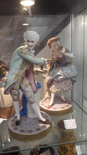 Antique French (probably) Porcelain Figures (1 of 3)