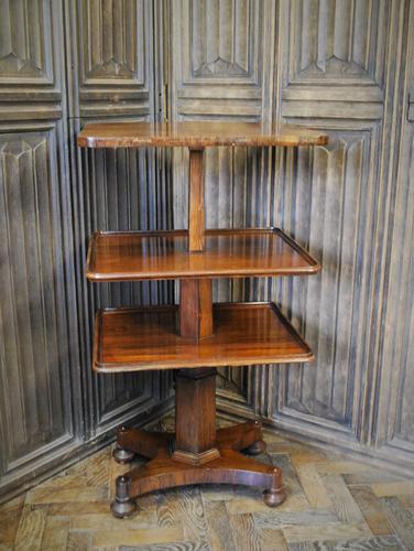 Antique Metamorphic Table into Dumbwaiter (1 of 6)