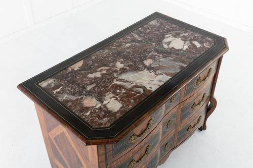 18th Century Three Drawer Mazarin Commode (1 of 6)