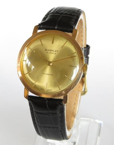 Gents 1960s Burghley Wrist Watch (1 of 4)