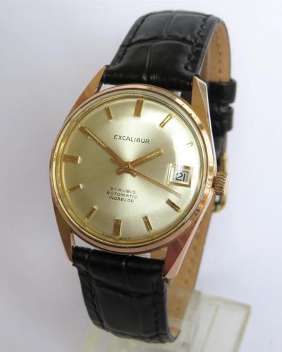 Gents 1960s Excalibur Wrist Watch (1 of 5)