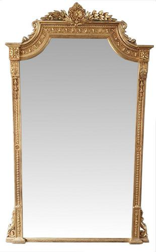 Large 19th Century Gilt Hall or Dressing Mirror (1 of 3)
