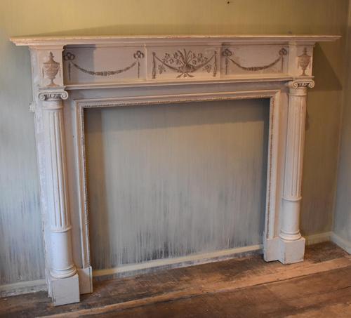 Adam Style Fire Surround in Original Paint (1 of 9)