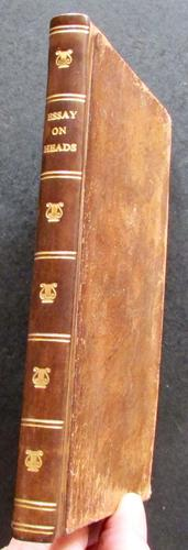 1799 1st Edition - Lecture on Heads by George Alex Stevens (1 of 4)