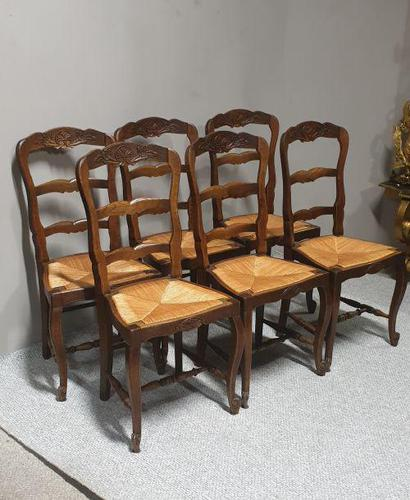 Set of 6 French Kitchen Chairs (1 of 8)